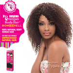 Janet Collection 100% Unprocessed Remy Human Hair Weave - BRAZILIAN BOMBSHELL JERRY CURL