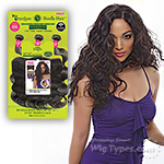 Janet Collection 100% Unprocessed Remy Human Hair Weave - BUNDLE BODY 3PCS (10/12/14 + 13x4 temple lace)