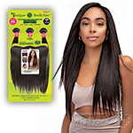 Janet Collection 100% Unprocessed Remy Human Hair Weave - BUNDLE STRAIGHT 3PCS (14/16/18 + 13x4 temple lace)