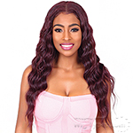 Bohemian Brazilian Secret Human Hair Blend Soft Swiss Lace Wig - HBW PEARL