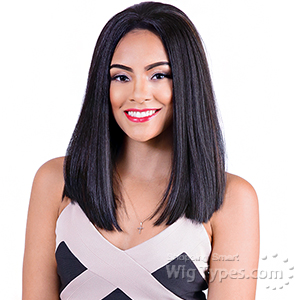 Bohemian Brazilian Secret Human Hair Blend Soft Swiss Lace Wig - HBW MOMO