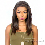 Bohemian Brazilian Secret Human Hair Blend Soft Swiss Lace Wig - HBW BRAZILIAN GIRL