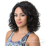 Bohemian Brazilian Secret Human Hair Blend Soft Swiss Lace Wig - HBW WINFREY