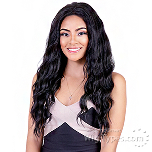 Bohemian Brazilian Secret Human Hair Blend Soft Swiss Lace Wig - HBW ALICE