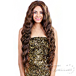 Bohemian Brazilian Secret Human Hair Blend Soft Swiss Lace Wig - HBW JESSICA