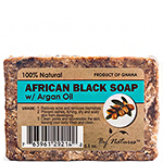 By Natures African Black Soap with Argan Oil 3.5oz