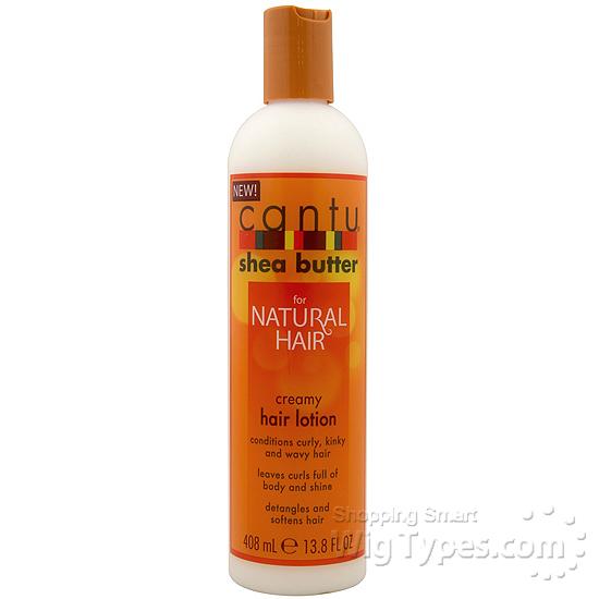 Cantu Shea Butter Natural Hair Creamy Hair Lotion 13 8oz