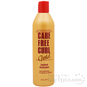 Care Free Curl Gold Instant Activator Moisturizer 16oz