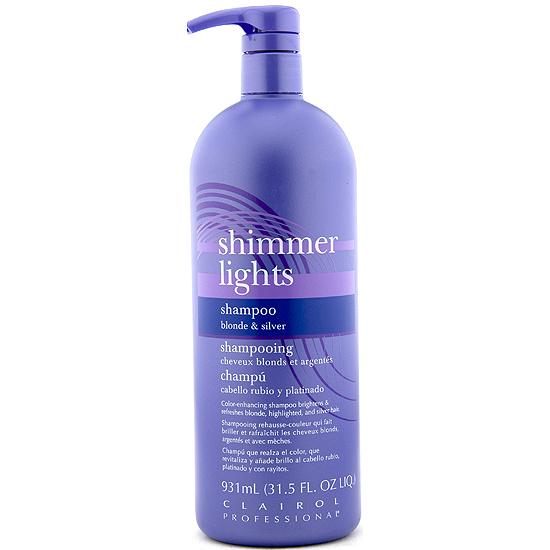 clairol shimmer lights shampoo silver 32oz. Black Bedroom Furniture Sets. Home Design Ideas