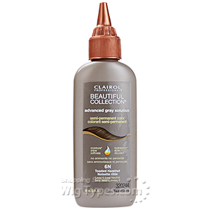 Clairol Beautiful Collection Advanced Gray Solution Semi-Permanent Hair Color 3oz