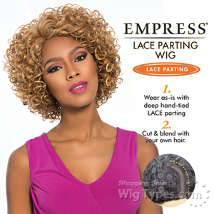 Sensationnel Synthetic Hair Empress Lace Parting Wig - CLARA (futura)
