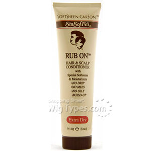 Sta Sof Fro Rub On Hair & Scalp Conditioner 5oz