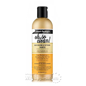 Aunt Jackie's Curls & Coils Oh So Clean! Moisturizing & Softening Shampoo 12oz