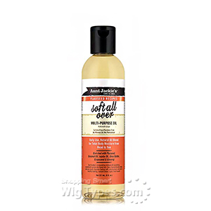 Aunt Jackie's Curls & Coils Flaxseed Recipes Soft All Over Multi-Purpose Oil 8oz