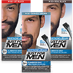 Just For Men Mustache & Beard Facial Hair Brush-In Color Gel