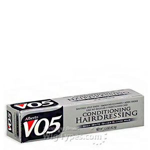 Alberto VO5 Conditioning Hairdressing for Gray/White/Silver Blonde Hair 1.5oz