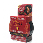 Creme of Nature Perfect Edges with Argan Oil Dark Brown 2.25oz