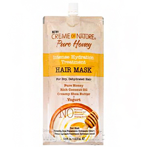 Creme Of Nature Pure Honey Intense Hydration Treatment Hair Mask 3.8oz - Yogurt