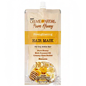 Creme Of Nature Pure Honey Strengthening Hair Mask 3.8oz - Banana