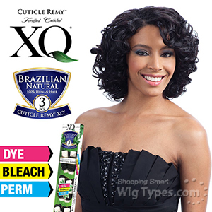 100% Brazilian Natural Virgin Remy Human Hair Weave - Cuticle Remy XQ - BOUNCY ROLL BUNDLE 3PCS