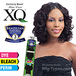100% Brazilian Natural Virgin Remy Human Hair Weave - Cuticle Remy XQ - SWEET BODY BUNDLE 3PCS