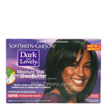 Dark and Lovely Moisture Seal Plus Shea Butter No-Lye Relaxer Super