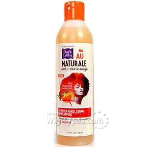 Dark and Lovely Au Naturale Hydrating Soak Shampoo 13.5oz