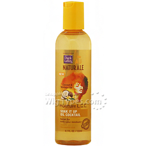 Dark And Lovely Au Naturale Moisture LOC Soak It Up Oil Cocktail 4.1oz