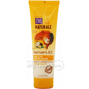 Dark And Lovely Au Naturale Moisture LOC Lock It In Sealing Cream 8.5oz