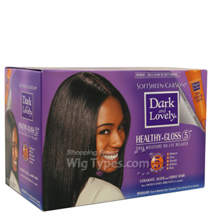 Dark and Lovely Moisture Seal Plus Shea Butter No-Lye Relaxer Regular