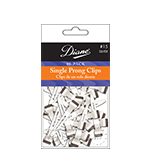 Diane #15 Single Prong Clips 80PK