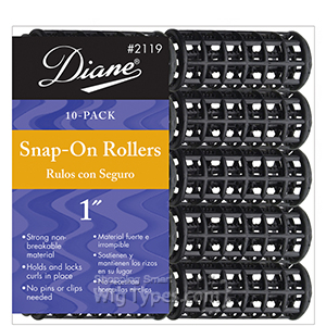 Diane #2119 Snap-On Rollers