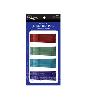 Diane #460 Jumbo Bob Pins 40 Asst Colors