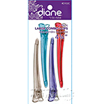 Diane #103C 4 - Pack Large Combo Clips 4 3/4""