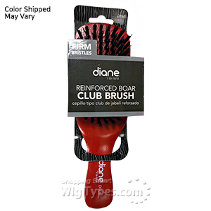 Diane #168 Reinforced Boar Club Brush