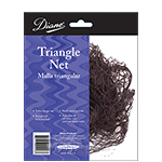Diane #608 Cotton Triangle Net - Black