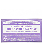 Dr. Bronner's Lavender Pure-Castile Bar Soap 5oz