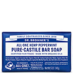 Dr. Bronner's Peppermint Pure-Castile Bar Soap 5oz