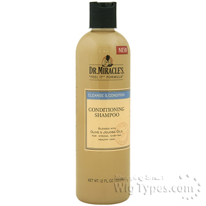 Dr.Miracle's Cleanse & Condition Condiitonnig Shampoo 12oz