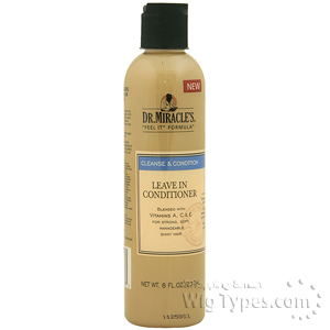 Dr.Miracle's Cleanse & Condition Leave In Conditioner 8oz