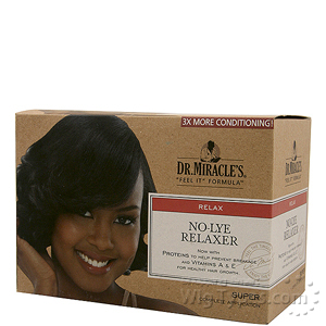 Dr.Miracle's No-Lye Relaxer Kit - Super