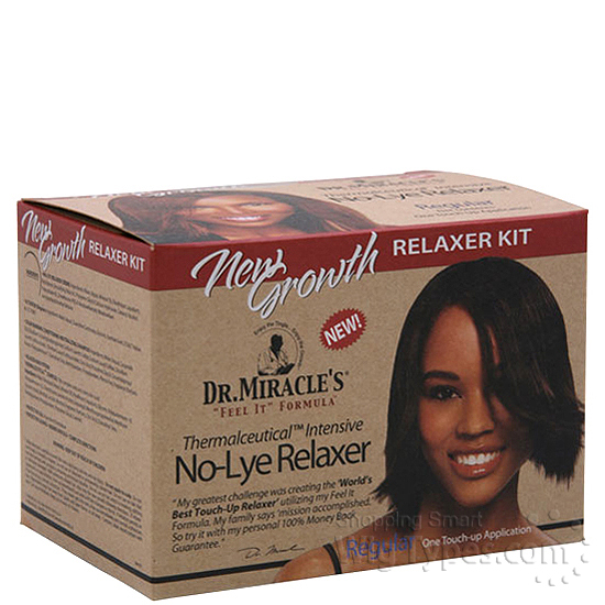 Dr Miracles New Growth No Lye Relaxer Touch Up Kit