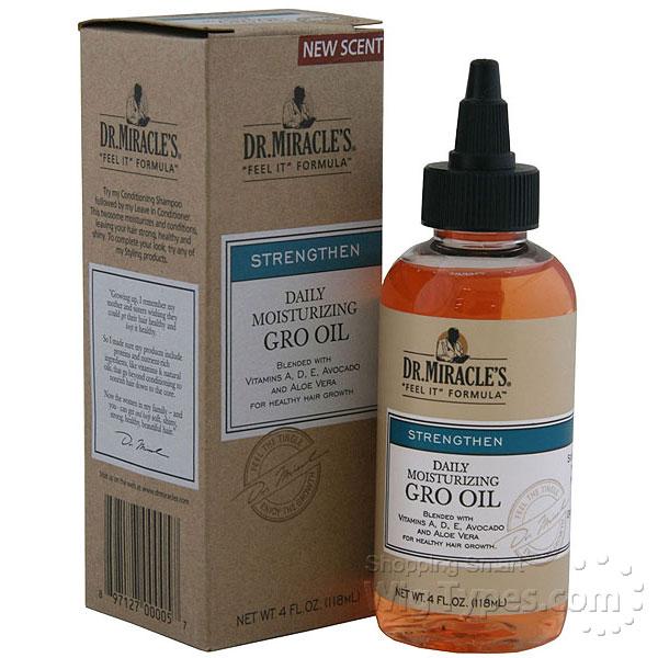 Naturally Producing Hair Oil
