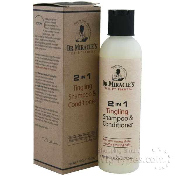 Dr Miracles 2 In 1 Tingling Shampoo Amp Conditioner 6oz