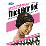 Dream World Grandma's Original Thick Hair Net - Black DRE125