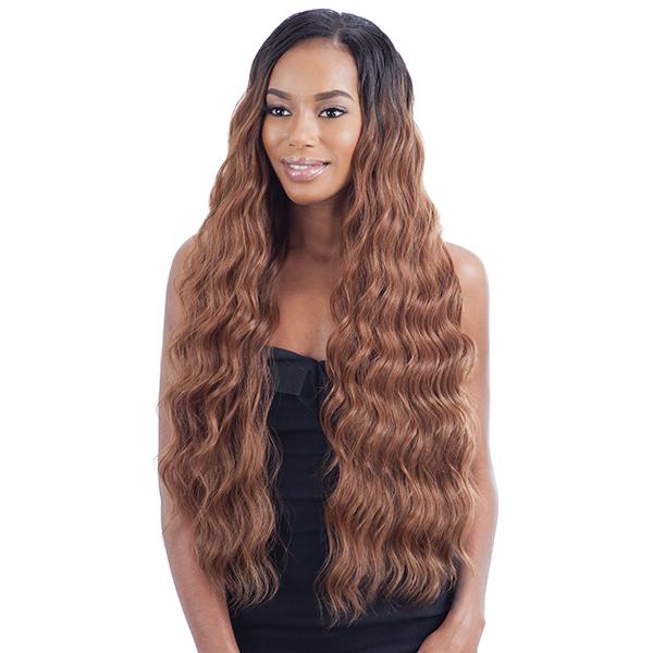 Model Model Dream Weaver Human Hair Blend Weaving Pose Peruvian