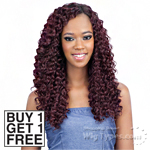 Model Model Dream Weaver Human Hair Blend Weaving - Pose Peruvian Flow Deep 16,18,20 (Buy 1 Get 1 Free)