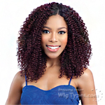 Model Model Dream Weaver Human Hair Blend Weaving - Pose Peruvian Bohemian 7pcs (12/12/13/13/14/14 + closure)