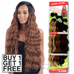 Model Model Dream Weaver Human Hair Blend Weaving - Pose Peruvian Long Soft Bundle Wave (Buy 1 Get 1 FREE)