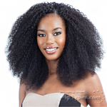 Model Model Dream Weaver Human Hair Blend Weaving - Pose Peruvian S-Z Curl  7pcs (14/14/15/15/16/16 + closure)
